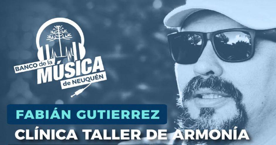 Segunda etapa de la clínica taller de armonía musical con Fabián Gutiérrez