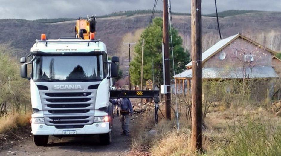 Mantenimiento eléctrico de emergencia en Cerro Bandera