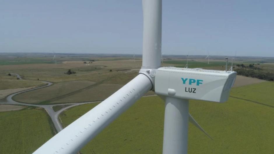 YPF Luz finalizó uno de los parques eólicos más grandes del país