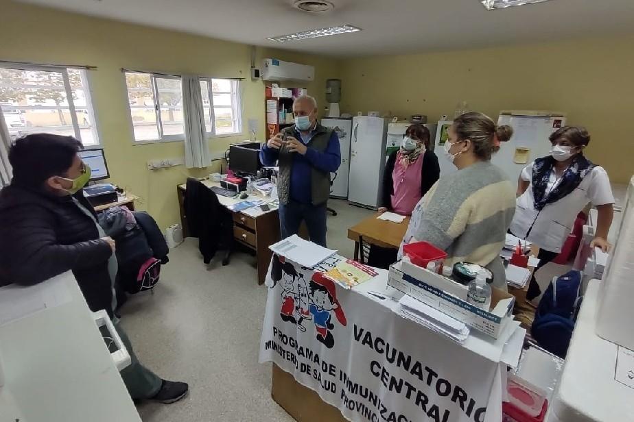 Con foco en la vacunación, el Ministro Zgaib repasó la situación sanitaria de San Antonio Oeste
