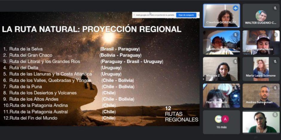 Reunión por el fortalecimiento de la Ruta Natural en la provincia del Neuquén