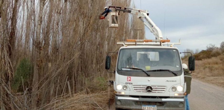 Corte por mantenimiento eléctrico en Vista Alegre