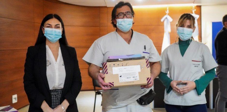 A través de fondos de Nación, la provincia de Neuquén adquirió nueve electrocardiógrafos