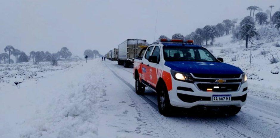 Neuquén: está en marcha el Operativo Nieve 2021