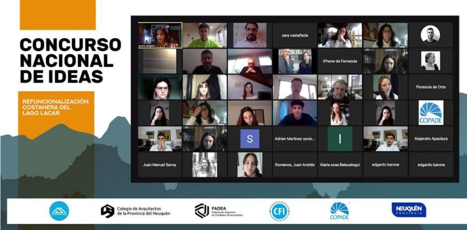 Premiaron a los proyectos ganadores de la convocatoria para la refuncionalización de la costanera del lago Lácar