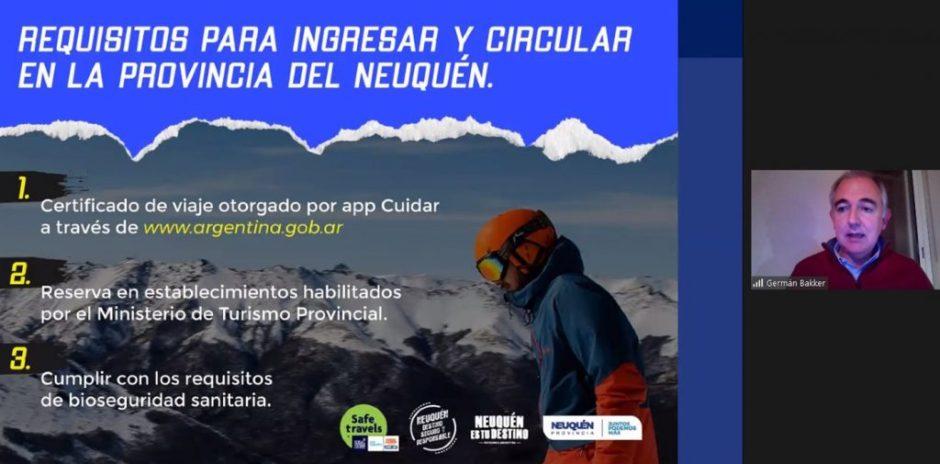 Neuquén: capacitaron en protocolos sanitarios a personal de centros de nieve