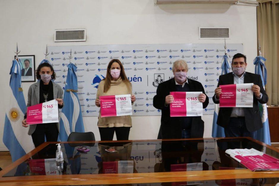 La Municipalidad de Neuquén se incorporará a la mesa federal contra la trata y explotación de personas