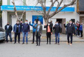 La lista azul del MPN presentó sus candidatos al congreso