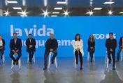 Vivo - Alberto Fernández y Cristina Kirchner presentan a los candidatos del Frente de Todos en la Provincia de Buenos Aires: Victoria Tolosa, Daniel Gollan y Sergio Pállalo serán los primeros nombres