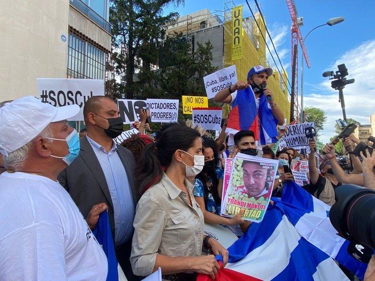 Más de 40 ONG y medios de comunicación pidieron que se respete el derecho a manifestarse y la libertad de expresión en Cuba