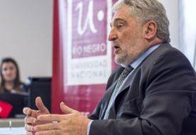 Murió el rector de la Universidad Nacional de Río Negro, Juan Carlos Del Bello