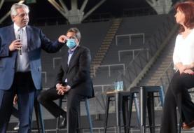 Alberto Fernández, Cristina Kirchner y Sergio Massa presentarán esta tarde a los principales candidatos del Frente de Todos para las PASO con un acto en Escobar