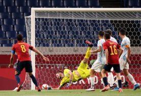 La selección argentina de fútbol peleó hasta el final, pero igualó con España y quedó eliminada de los Juegos Olímpicos