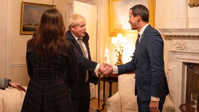 El Reino Unido reafirmó su respaldo a Guaidó antes de la audiencia por el oro de Venezuela en Inglaterra