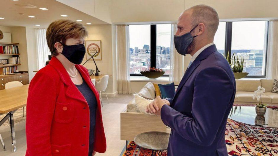 Gira por Italia: Guzmán se reunirá con Kristalina Georgieva y con Janet Yellen en Venecia