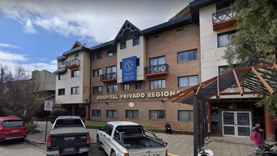 Bariloche: tenía covid, saltó de un segundo piso del hospital para escapar y murió