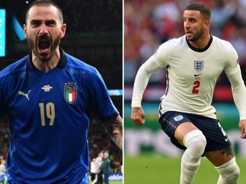Italia e Inglaterra van por el título en la Eurocopa ante 60 mil espectadores en el mítico Wembley: hora, TV y formaciones