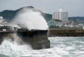 La tormenta tropical Nepartak podría tocar tierras japonesas este martes y afectar a los Juegos Olímpicos