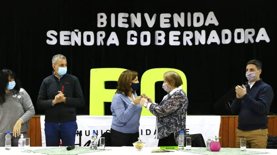 """Los Menucos: Carreras anunció la creación de la empresa provincial """"Eólica Rionegrina"""""""