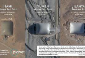 Las imágenes satelitales que muestran la construcción en China de un segundo campo de silos para misiles nucleares