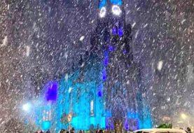 Brasil vivió una nevada histórica con temperaturas bajo cero en el sur del país