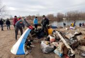 Exitosa jornada voluntaria de limpieza y saneamiento en la Laguna Paimún
