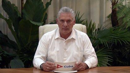 La dictadura cubana reprimió y detuvo a manifestantes durante las multitudinarias protestas en la isla