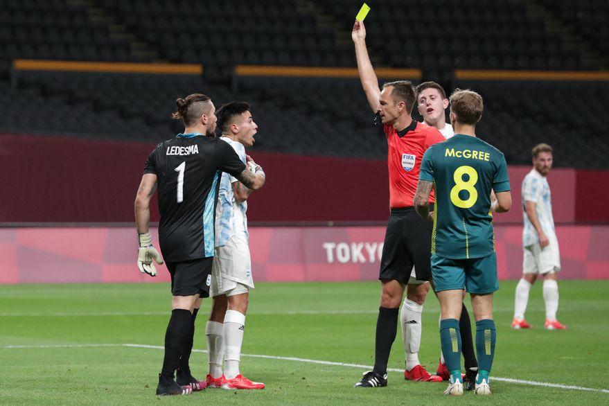 Argentina arrancó los Juegos Olímpicos con un paso en falso: cayó ante Australia en el estreno del fútbol masculino