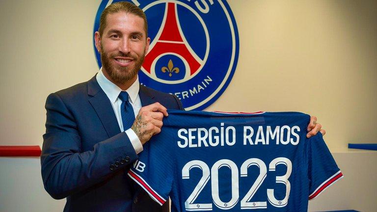 Oficial: Sergio Ramos es el nuevo fichaje del PSG