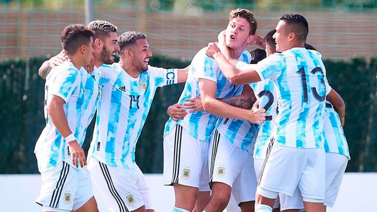 Juegos Olímpicos de Tokio: Argentina pierde por 2 a 0 ante Australia en el estreno del fútbol masculino en los Juegos Olímpicos