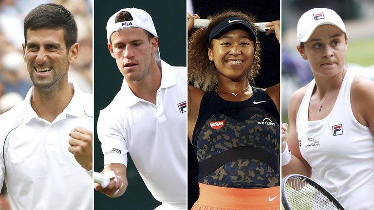 Se sorteó el cuadro del tenis en los Juegos Olímpicos de Tokio: contra quién debutan Djokovic, Schwartzman, Osaka y Barty