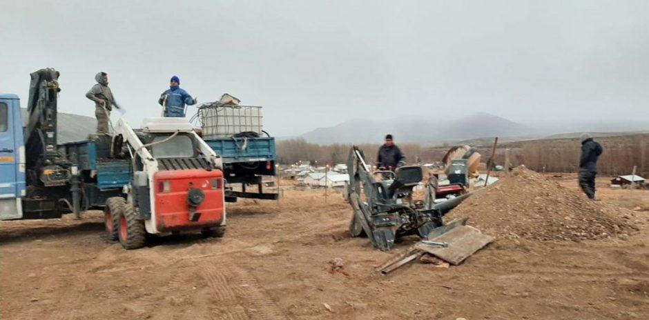 Instalan un nodo de telecomunicaciones en el paraje El Alamito