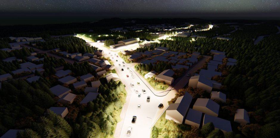Se licitará la pavimentación e iluminación urbana de Villa La Angostura
