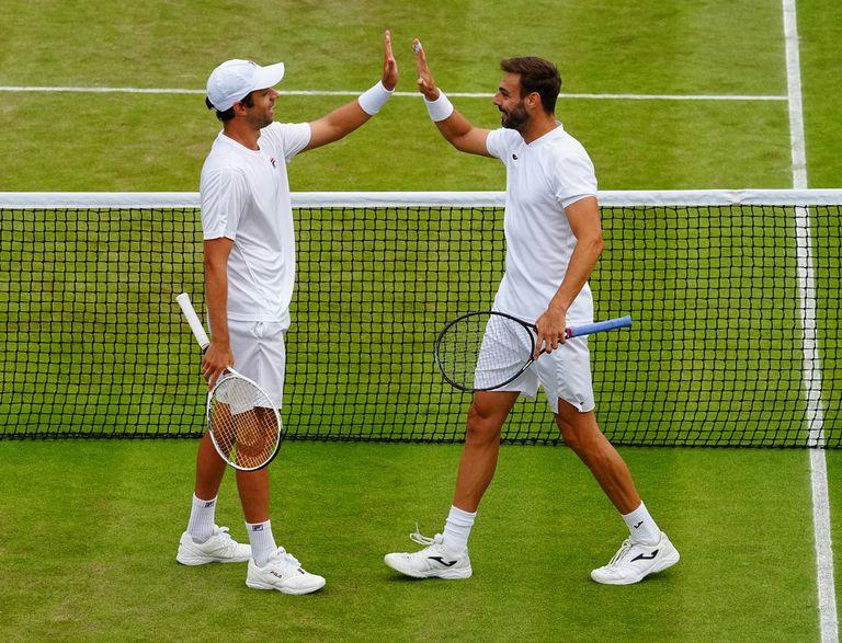 Zeballos y Granollers buscan consagrarse campeones de Wimbledon en la final de dobles