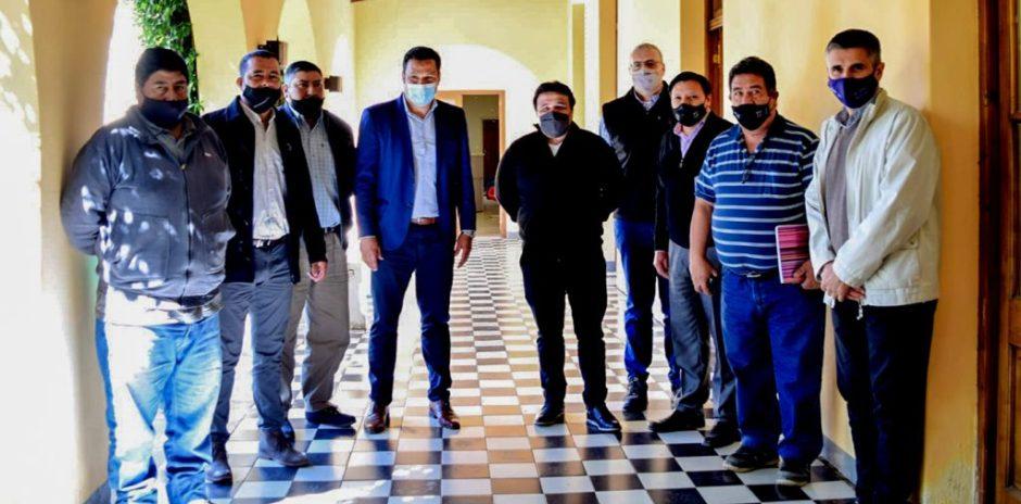 Se avanza en gestiones para mitigar efectos de la crisis hídrica en El Sauce y Sauzal Bonito