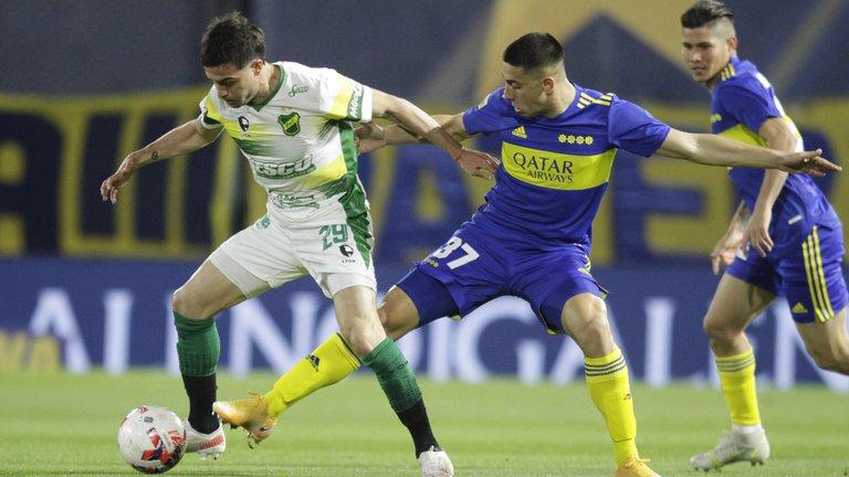 Boca Juniors y Defensa y Justicia igualaron 0-0 por la Liga Profesional