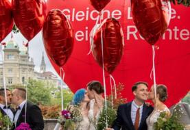 Suiza aprobó en un referéndum el matrimonio igualitario
