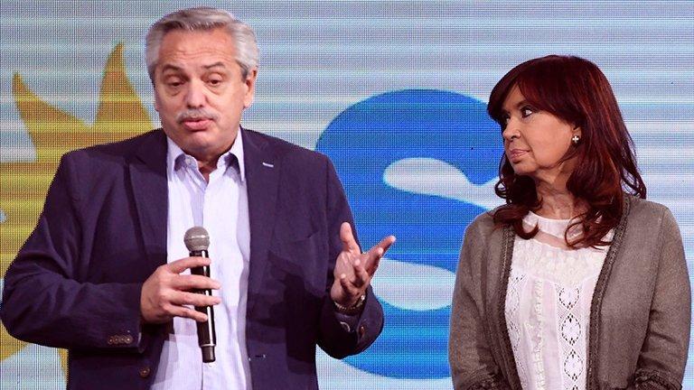 Alberto Fernández y Cristina Kirchner se reunieron en Olivos para analizar los resultados electorales