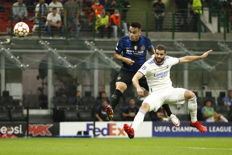 El Real Madrid logró un triunfo agónico ante el Inter, el City goleó y el Liverpool superó al Milan en la primera fecha de la Champions