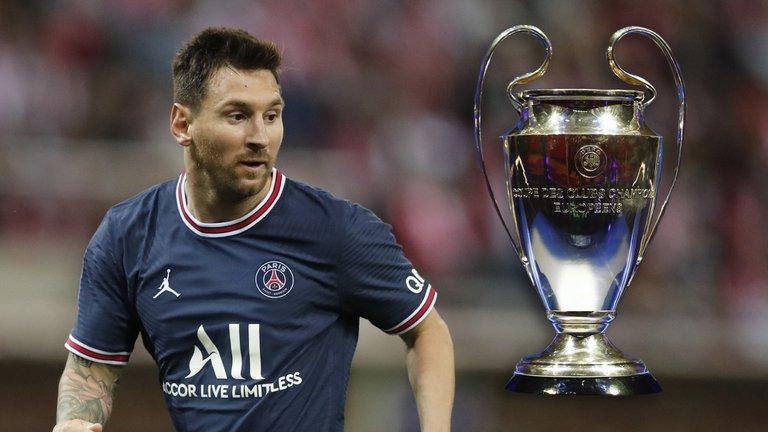 Lionel Messi y PSG, debutan en la Champions League, en un tridente con Mbappé y Neymar. horario y TV