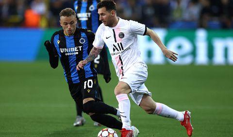 Con Messi, Neymar y Mbappé, el PSG no pudo ante el Brujas en la Champions League