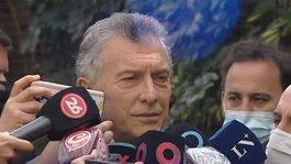 Mauricio Macri se refirió al conflicto mapuche y apoyó una protesta de vecinos en El Bolsón