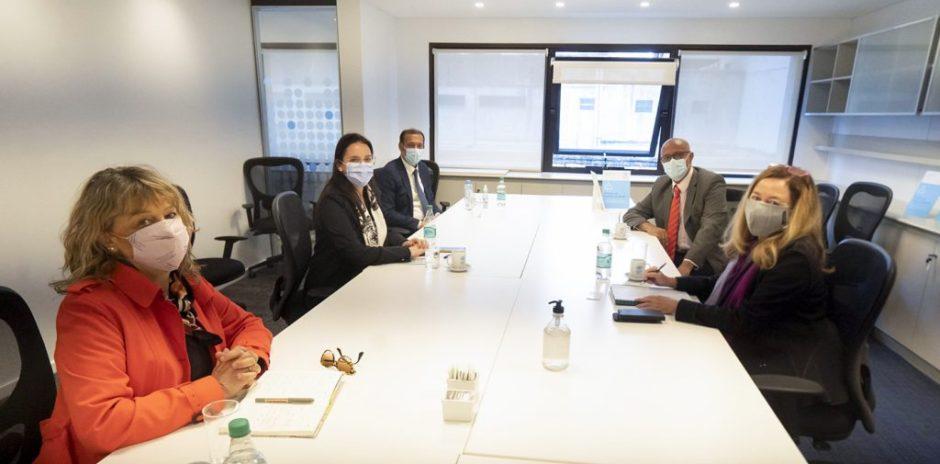 Gutiérrez se reunió con autoridades de ONU en Argentina