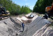 Se normalizó el suministro de riego en Centenario