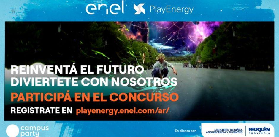 Neuquén acompaña al concurso Play Energy por el cuidado ambiental