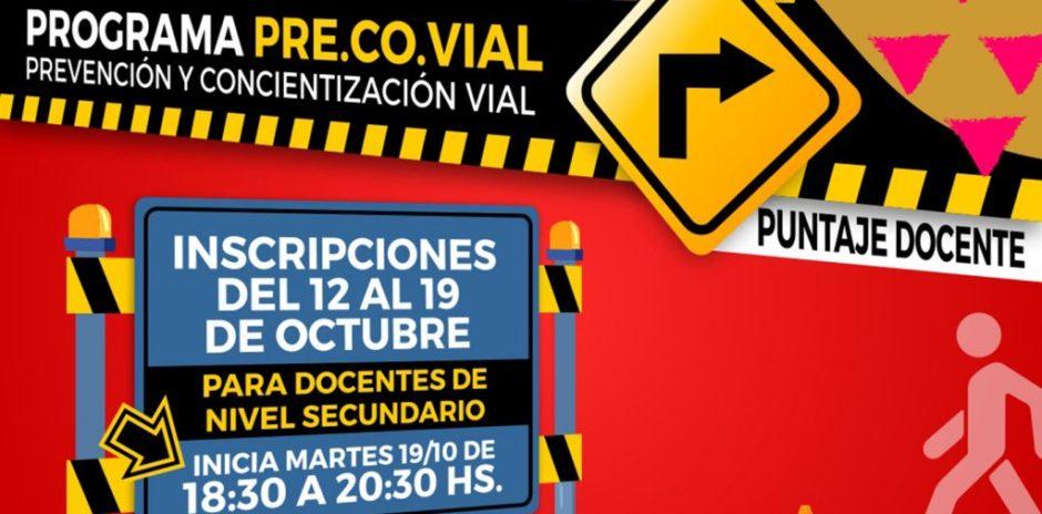 Capacitarán a docentes sobre prevención y concientización vial