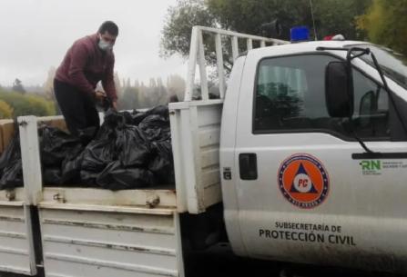 Río Negro: el Gobierno Provincial asistirá a afectados por el temporal de viento en distintas zonas de la provincia