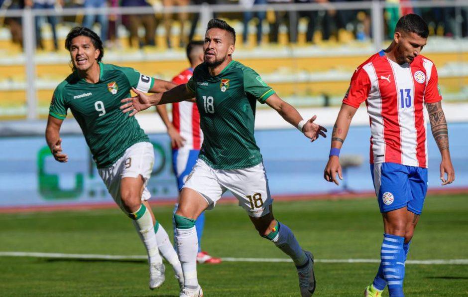 Bolivia goleó a Paraguay en La Paz y sueña con el repechaje de las Eliminatorias Sudamericanas