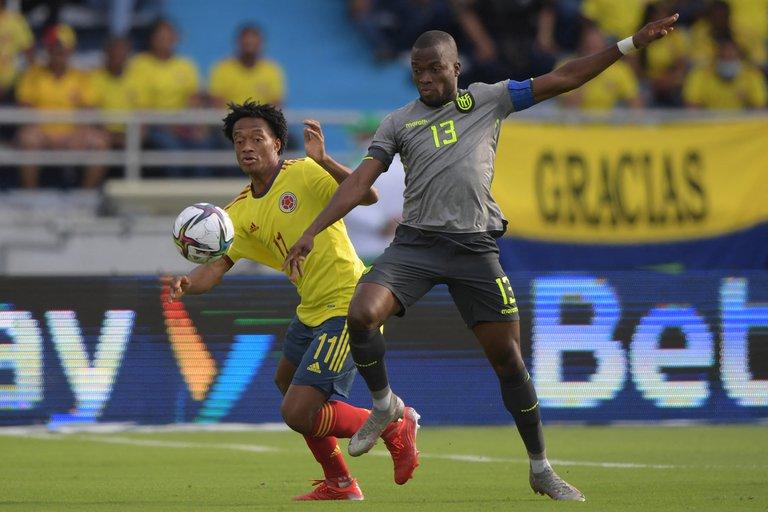 Colombia empató 0-0 con Ecuador por las Eliminatorias sudamericanas