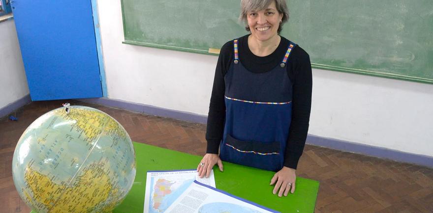 Una argentina, seleccionada entre los 10 finalistas a mejor maestro del mundo